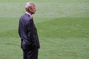 Arsene Wenger. Photo by: Ronnie Macdonald www.flickr.com