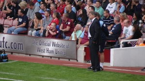 West Ham - David Cameron's a fan. Or maybe not.